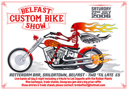BELFAST CUSTOM BIKE SHOW 2006