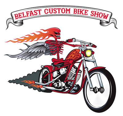 BELFAST CUSTOM BIKE SHOW - MERCHANDISE